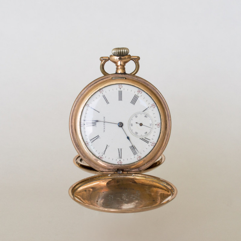 Gold Waltham Hunter 1882