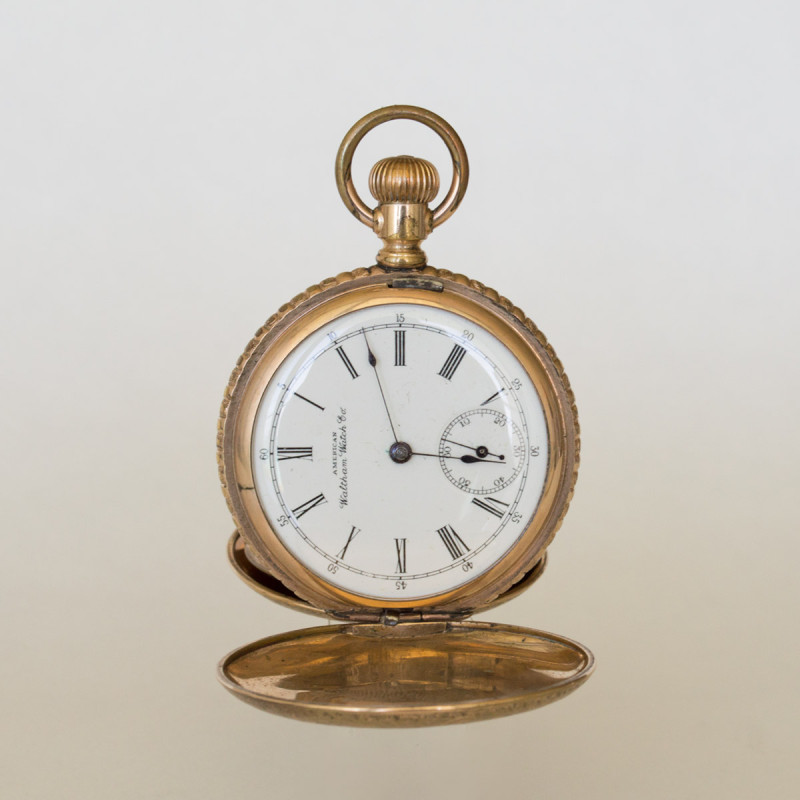 Gold Waltham Hunter 1892