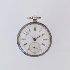 Silver Swiss Open Face 1890
