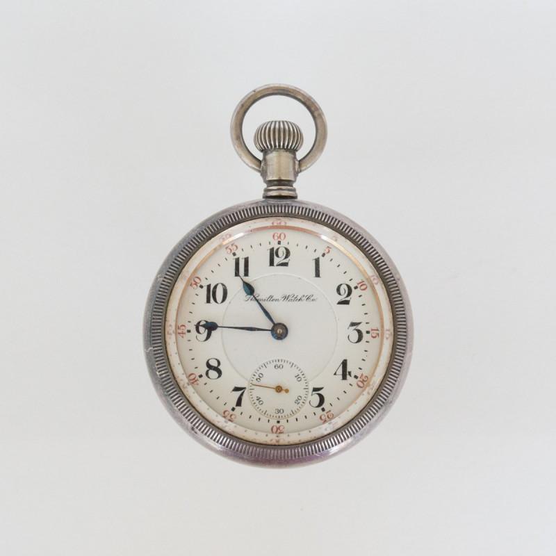 Silver Hamilton Open Face 1903